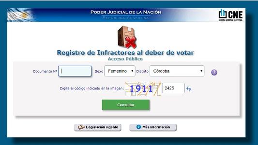 Quien no votó en las PASO puede justificarlo por internet