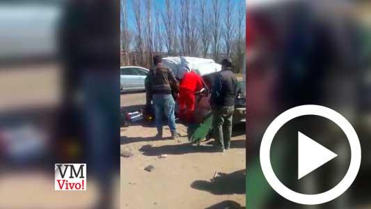 Video revelador: hablan de un tercer auto en el choque de ruta 9
