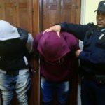 Detenidos plazoleta Villa Nueva