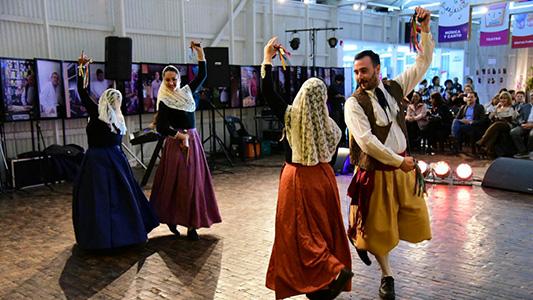 Con música y danza, invitan a reflexionar sobre la cultura como derecho humano