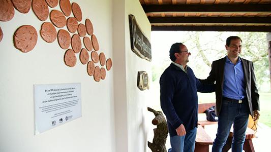 En Yucat se colocó una marca histórica recordando a los primeros habitantes de la zona.
