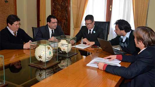 Organización de la Fiesta Nacional de la Pelota de Fútbol