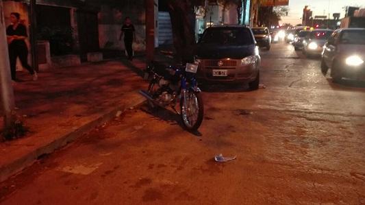 Otra adolescente con doble fractura tras chocar en moto