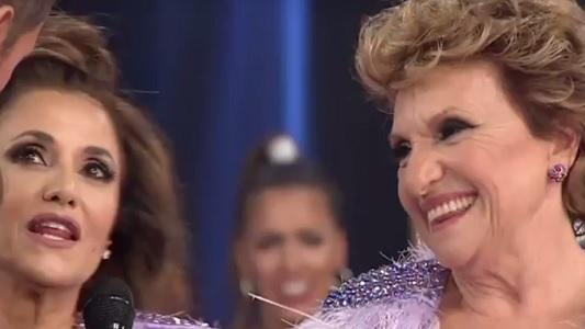 Consuelo Peppino: Se hizo esperar y la rompió en el cuarteto