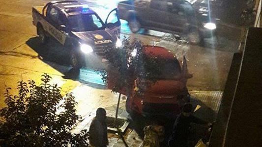detenidos policia choque perros alcoholizados noche (2)