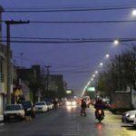 luces led calle Mendoza