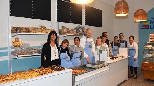 Una panadería permite la inclusión laboral a personas con discapacidad