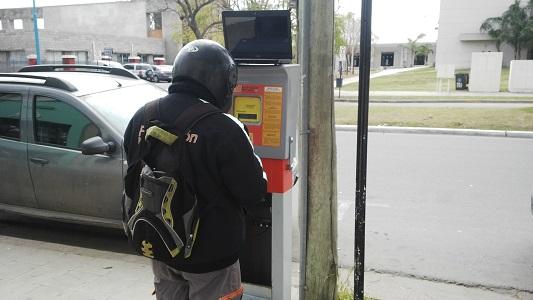 parquimetro control estacionamiento