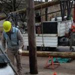 poste de telecom arreglo obrero