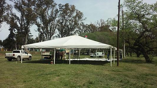 Preparativos festejos Villa Nueva parque (4)