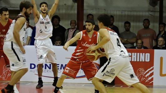 Debut soñado para Ameghino en la Liga Argentina de basquet