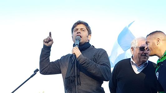 """Kicillof: """"Este gobierno vino a estafar a los argentinos"""""""