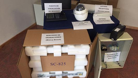 Comienzan a instalar las primeras 32 cámaras de vigilancia