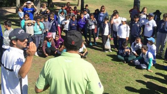 80 chicos de 7 escuelas rurales jugaron en el Villa María Golf Club