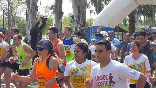 Todos los ganadores por categoría de la maratón de Villa Nueva