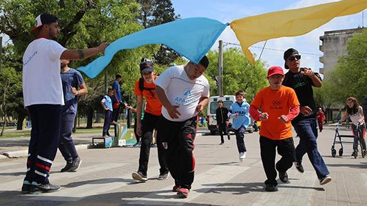 Más de 450 participantes en las Olimpiadas para personas con discapacidad
