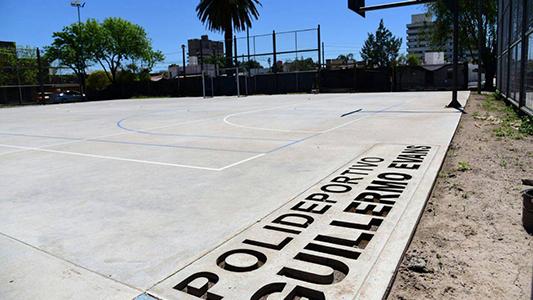 Cómo está quedando el Polideportivo con las remodelaciones