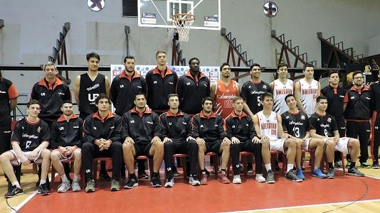 El Club Ameghino presentó equipo y camisetas para la Liga Argentina