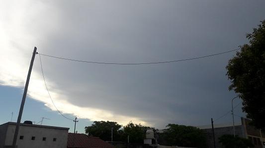 Alerta de tormenta fuerte y granizo que podría afectar a Villa María