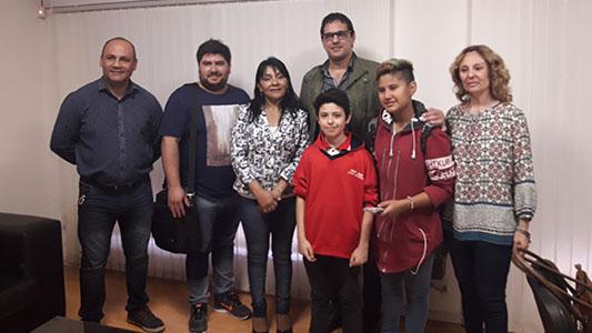 Chicos de Villa Nueva se organizan para luchar contra el bullying escolar