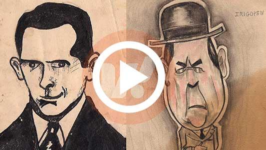 El legado que dejó el caricaturista secreto del ex Palace Hotel