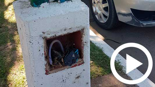 Temen un accidente eléctrico por conexiones en la Costanera