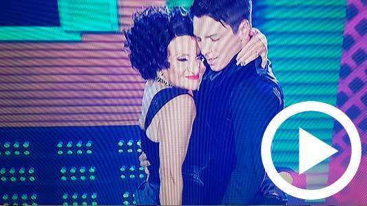 Consuelo no pudo con el tango y sacó uno de los puntajes más bajos