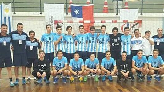 El handball de Villa María se subió a podio en Paraguay