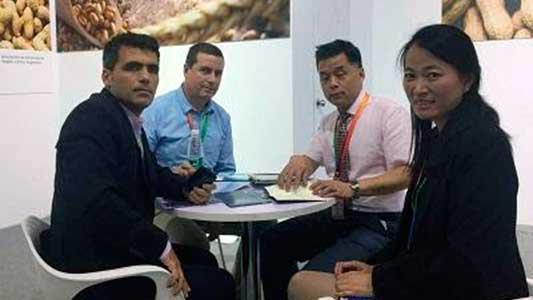Empresas tecnológicas de Villa María en una exposición en China
