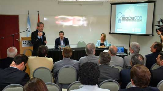 Se presentó la primera pre-incubadora de Córdoba para tecnológicas