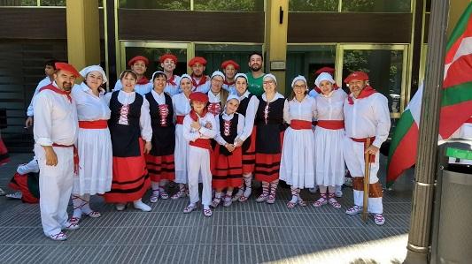 Seis días a puros festejos en la semana cultural Vasca