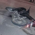 choque moto auto ex ruta pesada herido grave (1)