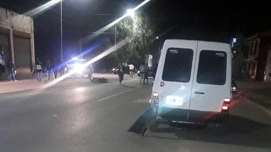 choque moto auto ex ruta pesada herido grave (2)