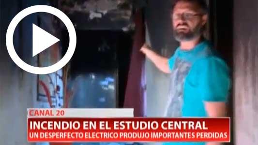 El emotivo regreso al aire de Canal 20 tras el grave incendio sufrido