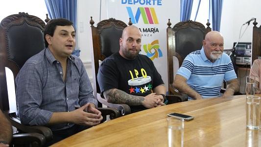 300 atletas llegan a Villa María al mundial de Powerlifting