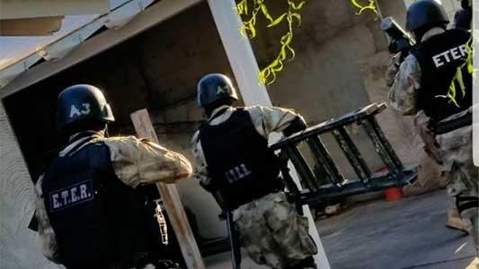 Operativo del Eter: 3 detenidos por el secuestro de una mujer en Leones
