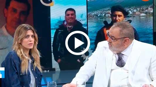 Prima del marino villamariense pidió a Macri respuestas para las 44 familias