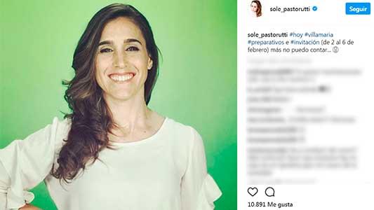 Soledad rompió la veda de noticias del próximo Festival de Peñas