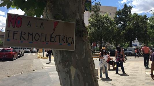 termoelectrica reclamo municipio