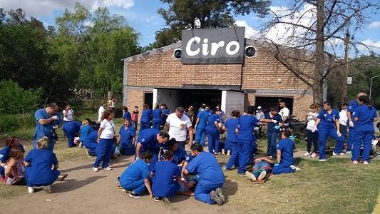 Las fotos del primer simulacro de castástrofe en Villa Nueva