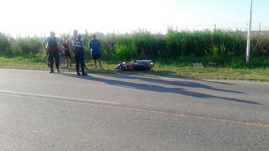 Investigan si corría una picada el chico que se mató con la moto