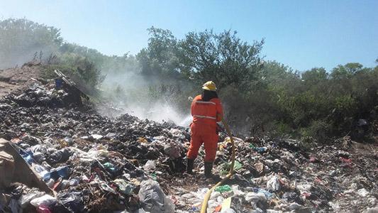 Basurales de la región que se siguen quemando y contaminando