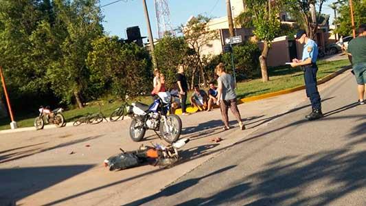 Murió motociclista de 72 años después de chocar en La Playosa