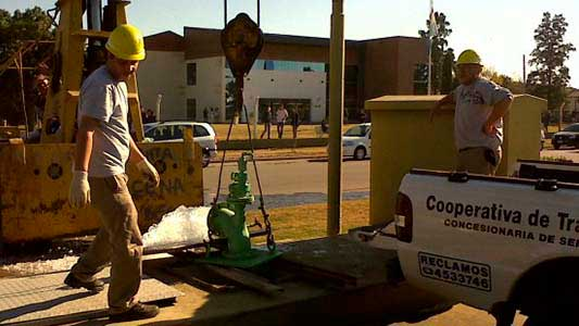 El plan de 12 años para llevar agua y cloaca a nuevos lotes de la ciudad