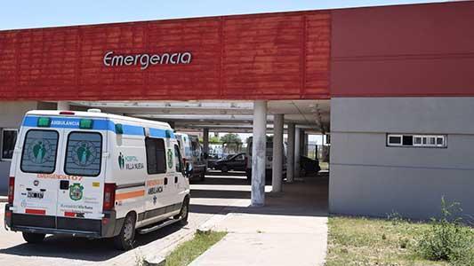 Herido de arma blanca fue trasladado al Hospital tras una discusión
