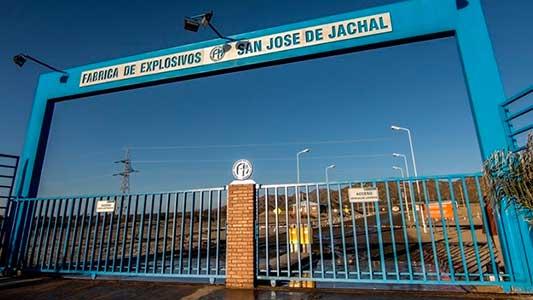 13 despidos en fábrica de pólvoras de Jachal, que depende de Villa María