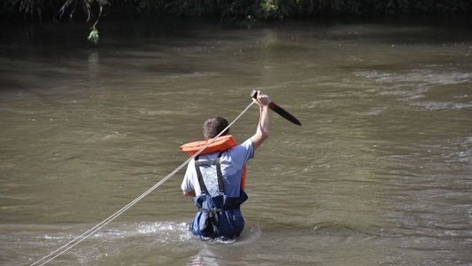 ¿Para qué vinieron de Estados Unidos a medir nuestro río?