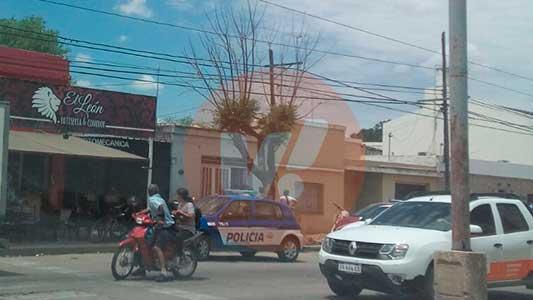 Una discusión de pareja movilizó a la Policía y angustió a vecinos