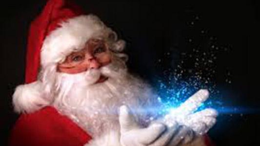 Papá Noel estará en el centro participando de la Navidad Mágica