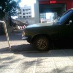 rampa auto estacionado 1